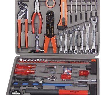 Mannesmann Werkzeugkoffer 555 tlg. M29555 375x330 - Mannesmann Werkzeugkoffer 555-tlg., M29555